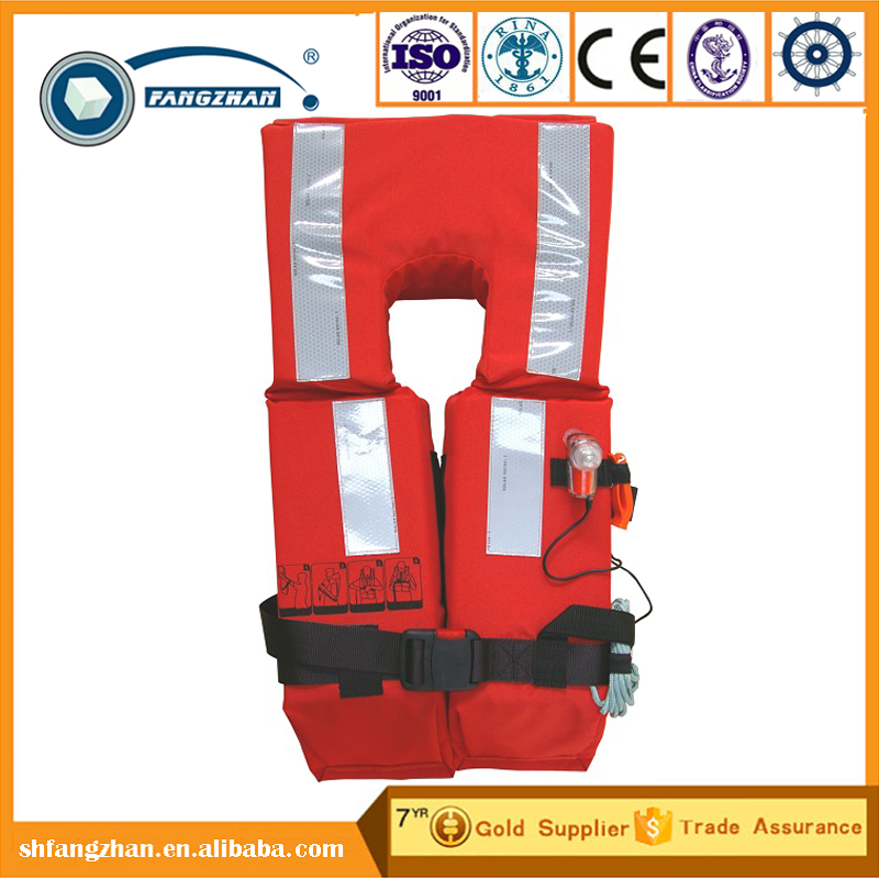 2017 NEW solas approved and EC Certificate portable Marine life jacket
