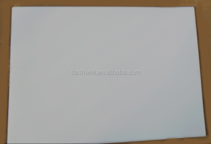 White Opaque Matte Laser Film 150 microns