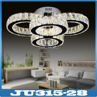 New model commercial led crystal chandelier ceiling light
