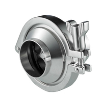 food grade sanitry spring loaded check valve