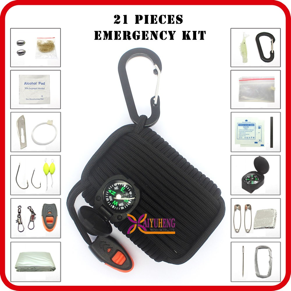 multi purpose outdoor and camping disaster survival list