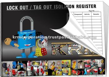 LOCKOUT TAGOUT ISOLATION REGISTER