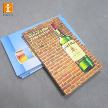 Water resistant wall board poster