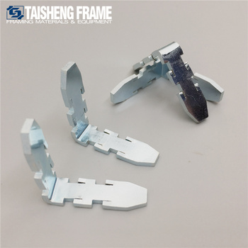 stronger Aluminum Alloy frame corner plate picture frame hardware connection parts art materials service