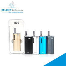 New preheat battery vape pen 510 thread H10 cbd oil vaporizer for hemp oil