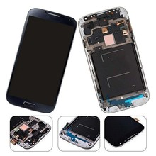 Galaxy S4 SIV New LCD Screen Replacement With Frame(GSM Models - T-Mobile M919 AT&T I337)Full Set Display Touch Screen Digitizer