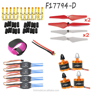 JMT DIY RC Aircraft Multicopter Accessories 920KV CW CCW Motor Simonk Firmware 30A ESC 9443 Self-locking Propeller