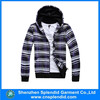 100%cotton high quanlity cross stripe hoodies