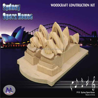 Sealand AMP Centrepoint Tower Sydney Australia,3D Wooden Puzzle Kit New & Mint