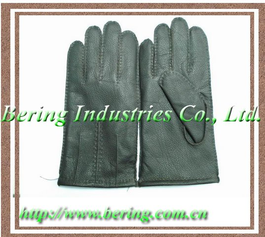 Calf Leather Gloves.