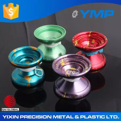 Hot sale 2015 mechanical aluminum custom cnc machined anodised yoyos