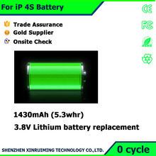 Mobile phone repair parts For iPhone 4S 3.7V battery wholesaler price