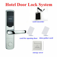 CE Certificated ANSI mortise RFID card electronic lock for hotel door PY-8360-Y