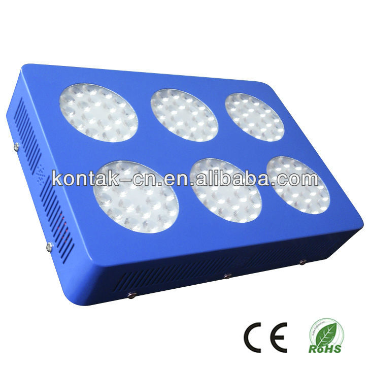 Second Optical Lens 144x3w LED Grow Light for Greenhouse Seeds Growing