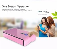 2016 healthy life Phone UV Sterilizer disinfector Sanitizer for Travel version