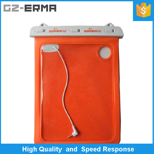 New Arrive Waterproof Dry Case Bag for ipad Tablet PC 11 inch Waterproof Pouch with Output Line