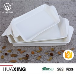 Wholesale chaozhou factory white porcelain ceramic plates russian dinnerware for sale