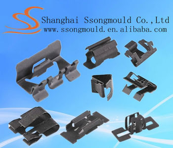 High precise car door panel clips,auto clips with TS certificate