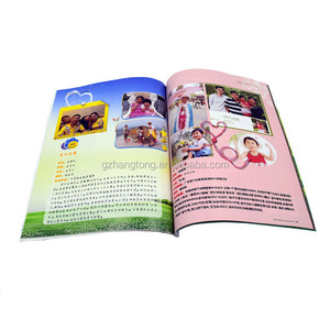 Softcover Children Book/ Comic Book Printing Price/alibaba china brochure
