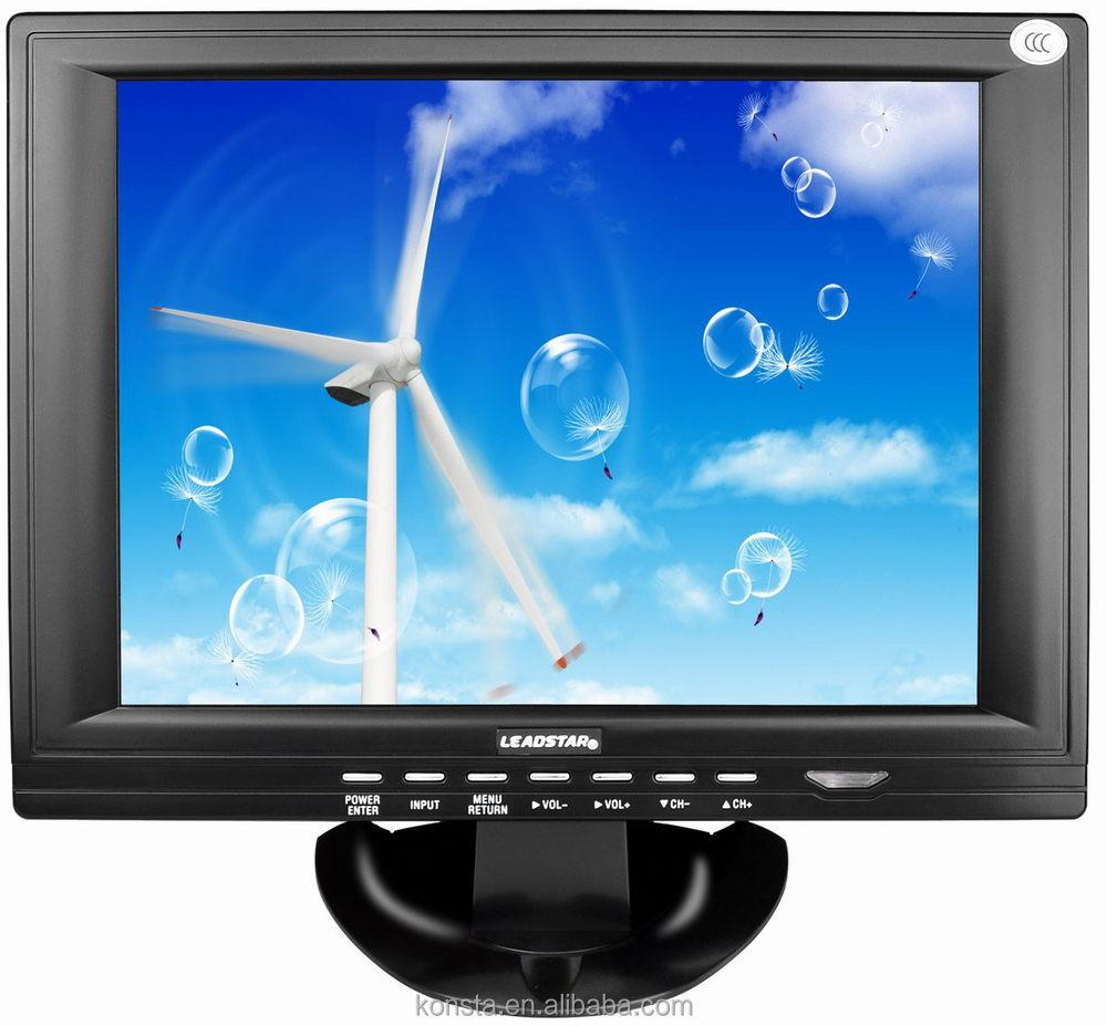 13  из светодиодов / жк-портативный tv / автомобилей-телевизор с hdm / vga порт 1080i телевидение
