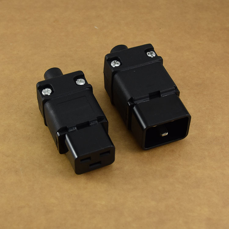 Hot selling alibaba wholesales IEC 320 C20 male connector electrical industrial plug adapter SS-810