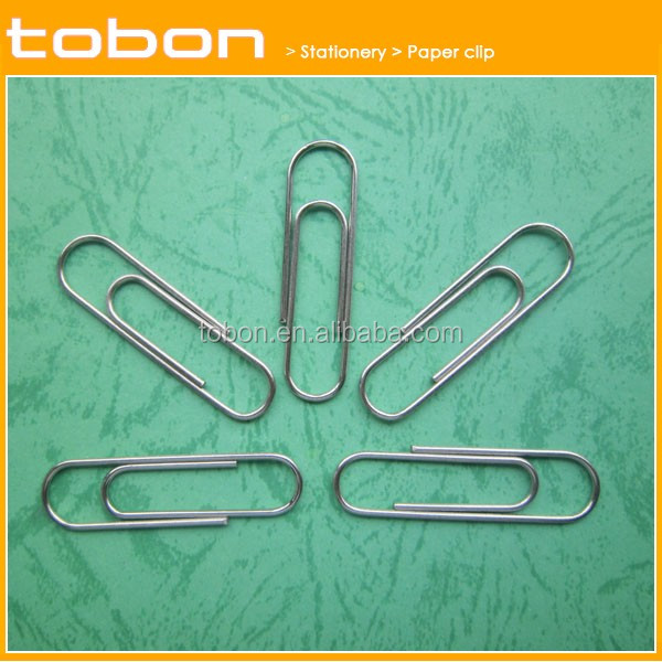 50mm 33mm 28mm zinc or nickel round metal paper clip