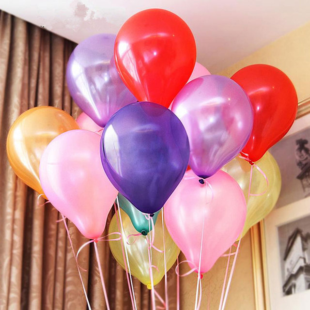 100pcs 10inch Latex Balloons inflatable Helium balloon kids Birthday toys Christmas decoration globos Wedding  Party supplies