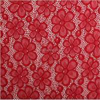 TH-8826 jacquard knitting spandex lace fabric african lace for curtains