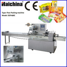 DZP 400C Pillow Multifunction Packaging Machine for Food / Cookies