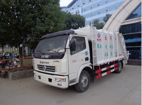 New style compactor garbage truck 2 ton capacity garbage trucks price