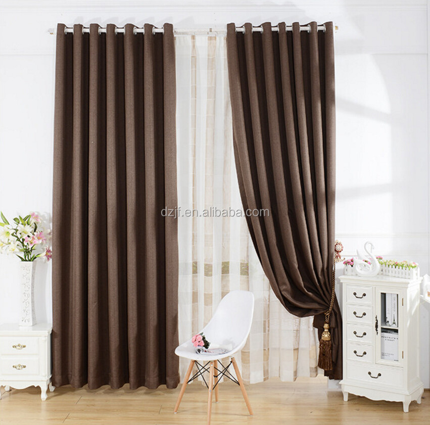 Top one curtain factory more than 10 years first class quality creative design dying blackout curtain