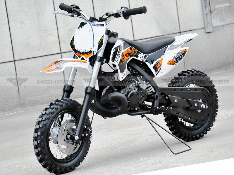 50cc 2 stroke Kick Start Gas Powered Mini Kids Pit Bike with KTM engine