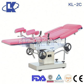 Delivery Bed Manual Gynecology Birthing Chair Hospital Tze With High Quality