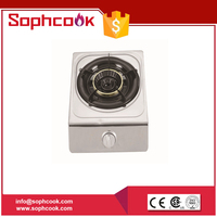 High Quality Auto Ignition Single Cast Iron Burner Gas Stove (Used For LPG&Ng gas)