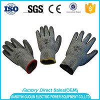 high quality water based esd pu gloves china with factory price