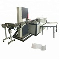 Small investment paper cutter toilet tissue roll cutting machine