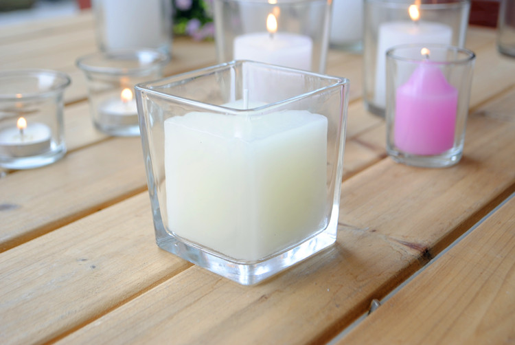 Popular candlesticks regular tealight glass candle holder