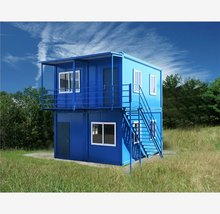 2014 plastic outdoor public iso 2000 portable house prefabricated small living house