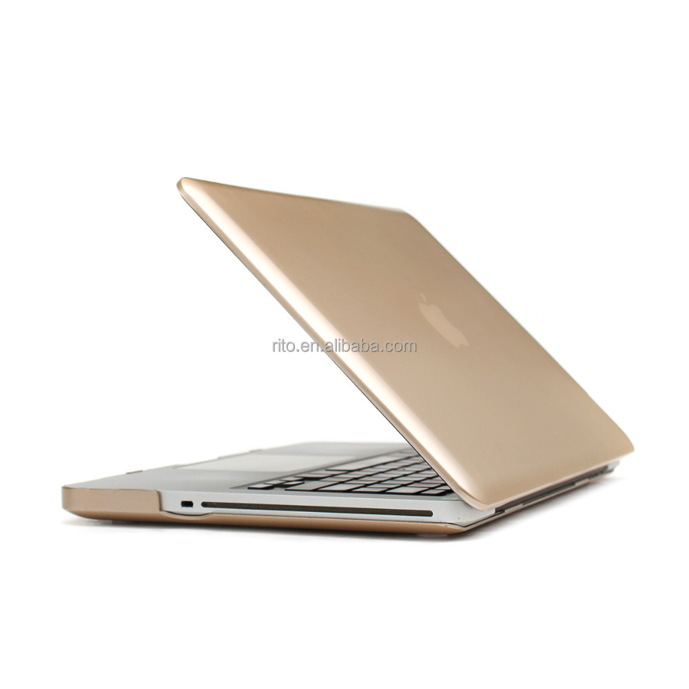 For Gold Macbook Shell Case, Laptop Shell Cover for MacBook A1278 Pro 13