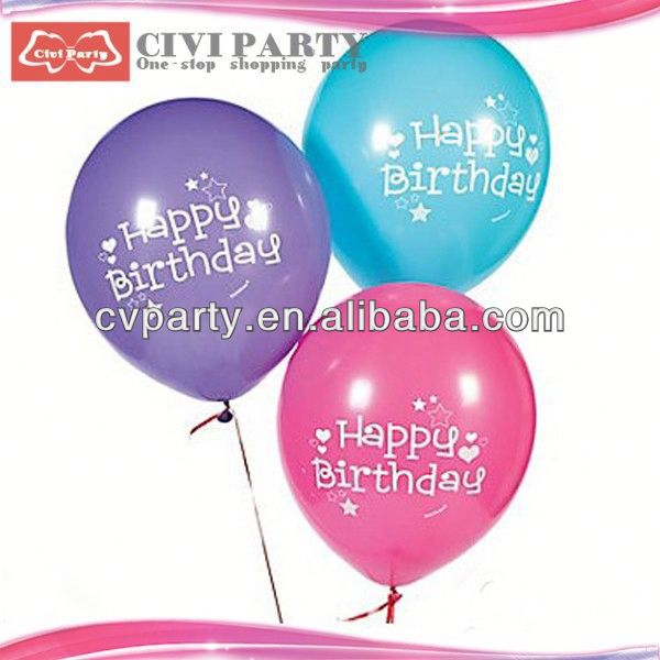 Wholesale advertising balloon party balloons japanese birthday greetings