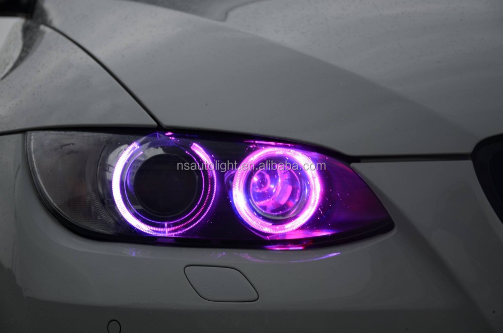 Amazing RGB Color change remote control10W LED marker light LED angel eyes for BMW E90 E91