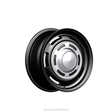 Black 16inch popular alloy car rims from factory
