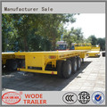 HOT sale 50t container semi trailer , flatbed semi trailer