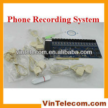 16ch PCI Telephone recording card