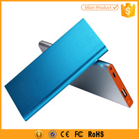 Aluminum Metal Case Slim Power Bank 4000mAh for Cell Phones Smartphones