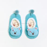 Designer unique 3d baby socks anti slip