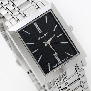 wristwatches Original Wilon 971 Brand simple square male couple watches Korean fashion men Woman stainless steel watch