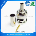 RF Coaxial Cable Male BNC Connector Crimp