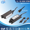 IP68 24W 24V 1A DC waterproof outdoor power supply
