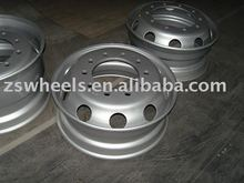 tube steel wheel rims 22.5x7.5 with factory direct sales